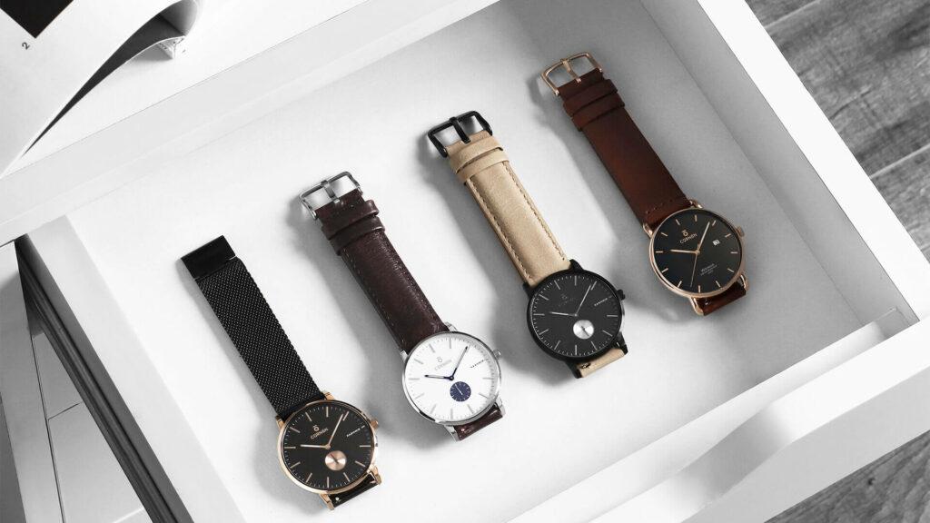 Mẫu mã đà dạng - Các hãng đồng hồ nổi tiếng tại Việt Nam