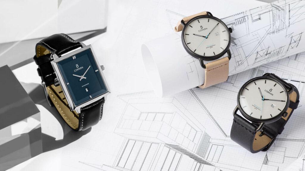 Đồng hồ Curnon đa dạng mẫu mã, màu sắc