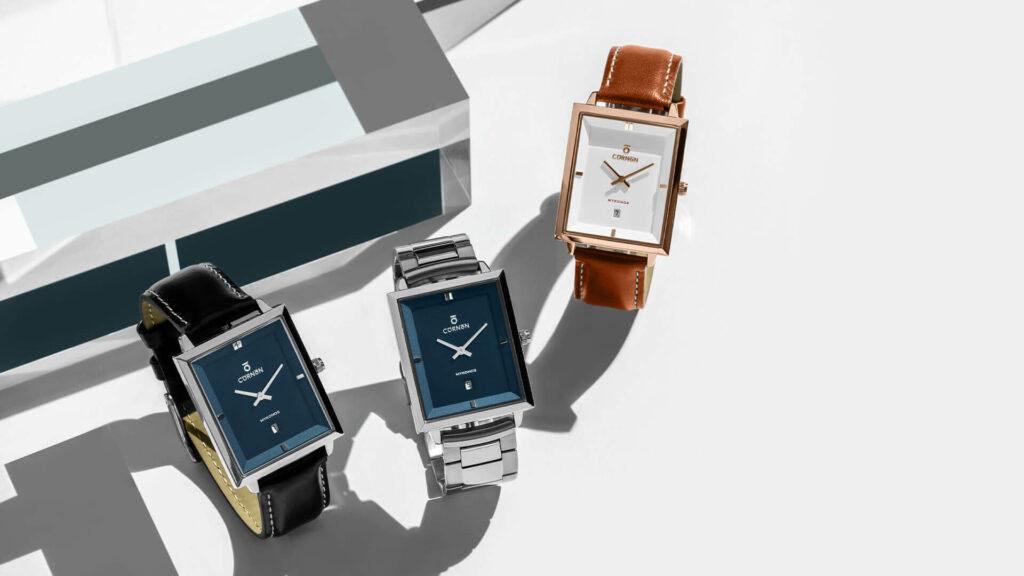 Những mẫu đồng hồ nam đẹp - Thiết kế góc cạnh, cổ điển