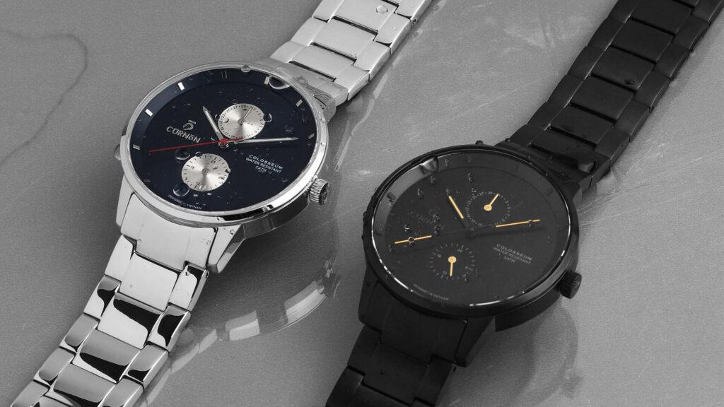 Đồng hồ Minimalist dây kim loại