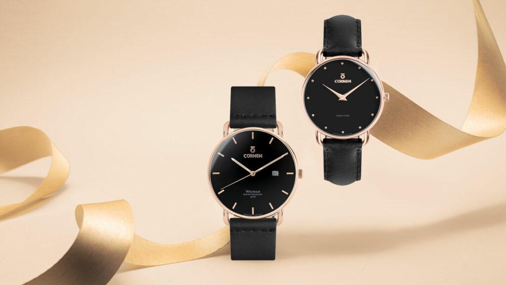 Đồng hồ đôi Weimar Paul - Hamilton Scarlett