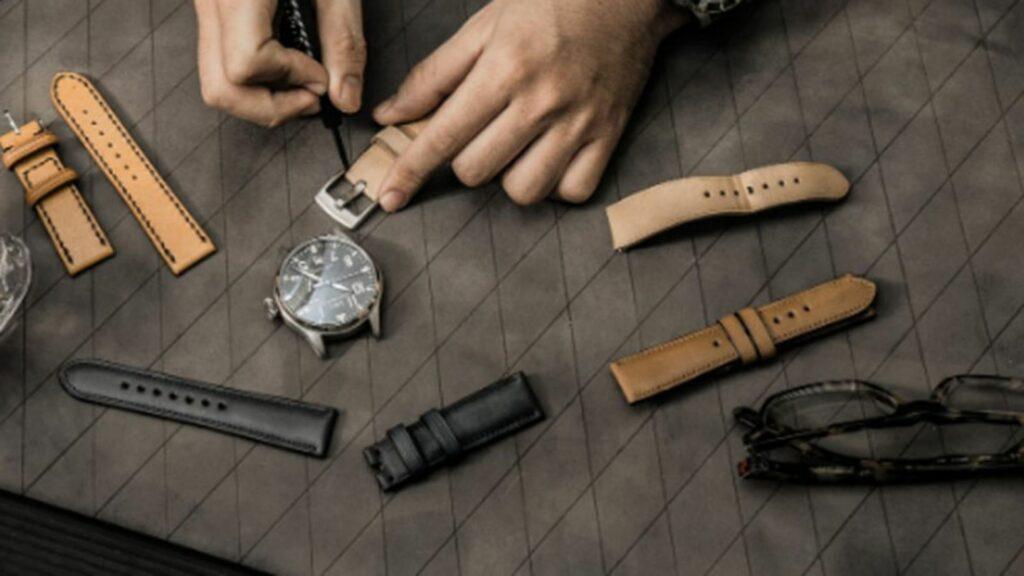 Cách xử lý khi đeo đồng hồ dây da bị rộng