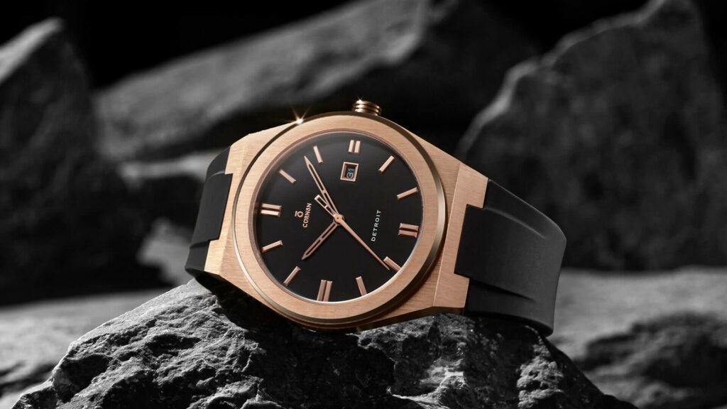Men's watch rubber strap fashion
