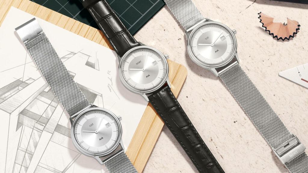 Quà tặng đồng hồ đeo tay in logo, sản xuất theo yêu cầu