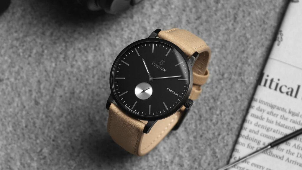 đồng hồ quartz Curnon Kashmir