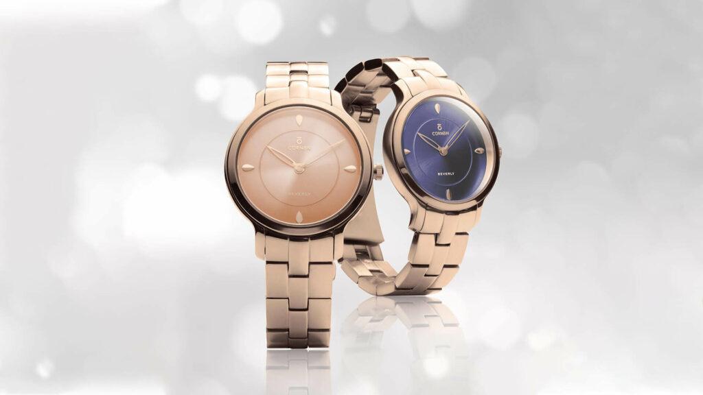 đồng hồ quartz Curnon Beverly