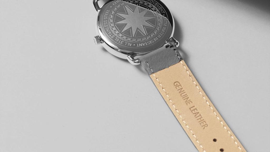 Dây da đồng hồ Genuine Leather