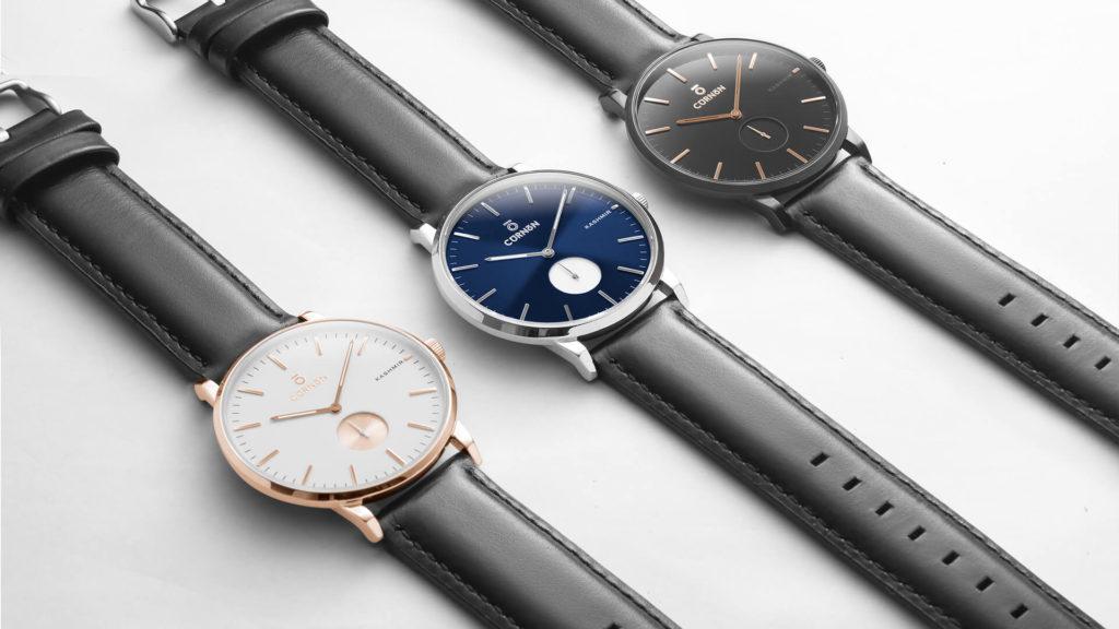 Dây da đồng hồ Curnon đa dạng về màu sắc