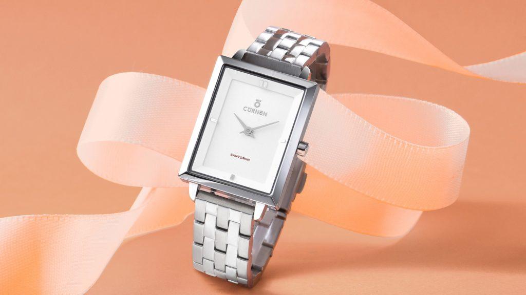 Đồng hồ 2 kim cho nữ Santorini Cadie