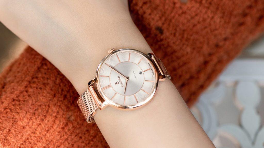 Đồng hồ 2 kim của nữ Florenge Ivy