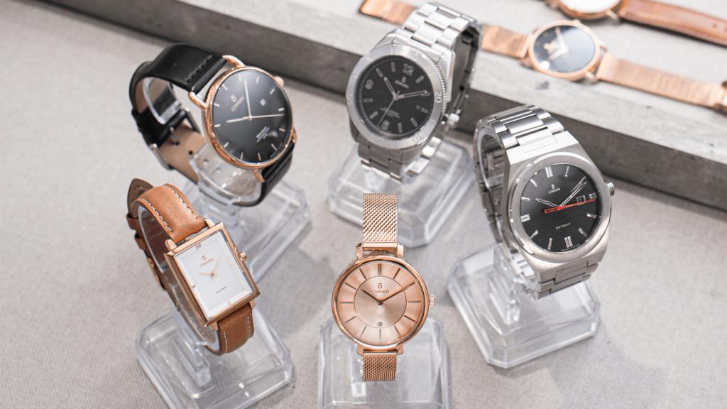 sưu tập đồng hồ từ nhiều loại khác nhau